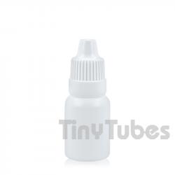 10ml Weiß Tropfflasche