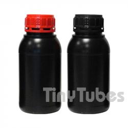 500ml UN homologierte SCHWARZE Flasche