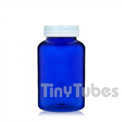 500ml PET Pillendosen mit Scharnierdeckel