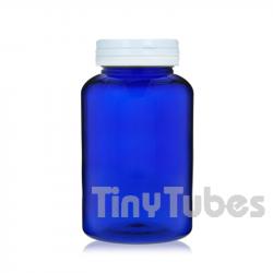300ml PET Pillendosen mit Scharnierdeckel